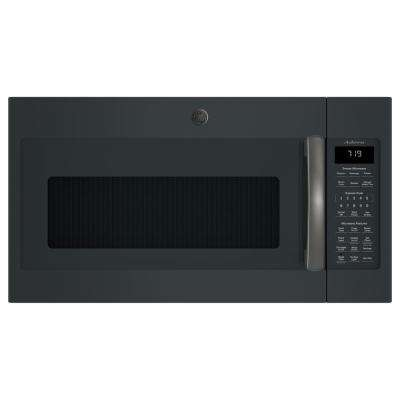 Adora 1.9 cu. ft. Over the Range Microwave in Black Slate with Sensor Cooking, Fingerprint Resistant
