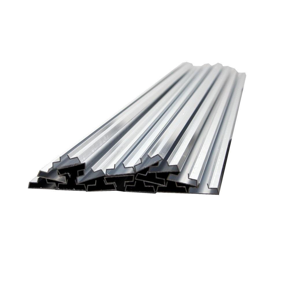 48 in. Aluminum Metal Groove Inserts