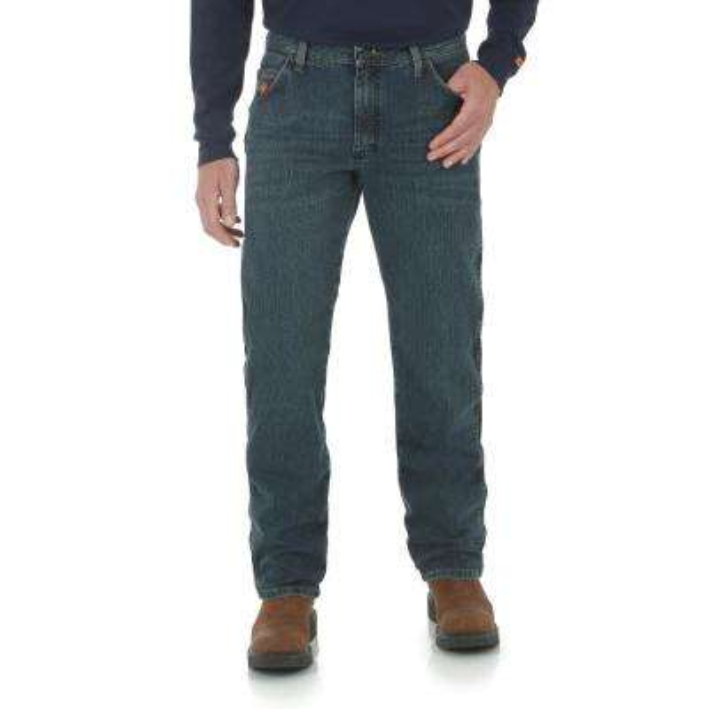 Men's Size 38 in. x 30 in. Dark Tint Regular Fit Advanced Comfort Jean