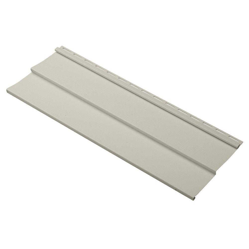 Dimensions Double 4 in. x 24 in. Vinyl Siding Sample in