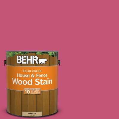 1 gal. #T16-02 Pagoda Solid Color House and Fence Exterior Wood Stain