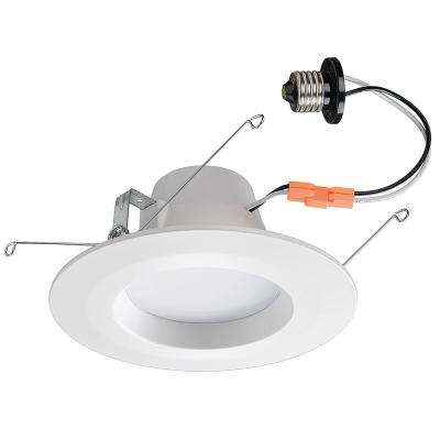 5 in. and 6 in. Color Selectable White Integrated LED Bluetooth Recessed Trim
