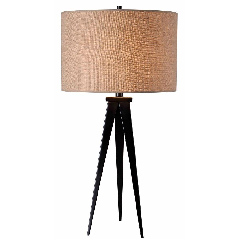 Kenroy Home Foster 29 in. Oil-Rubbed Bronze Table Lamp
