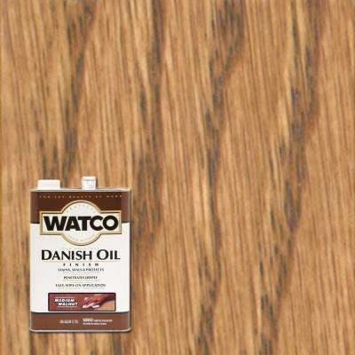 1 gal. Medium Walnut Danish Oil (2-Pack)