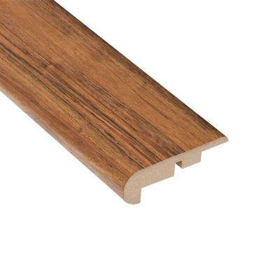 Vancouver Walnut 7/16 in. x 2-1/4 in. Wide x 94 in. Length Laminate Stair Nose Molding