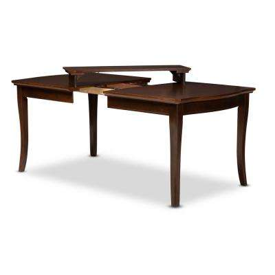 Riverside Walnut Brown Extendable Dining Table