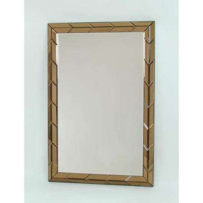 Beveled Colored Mirror Frame