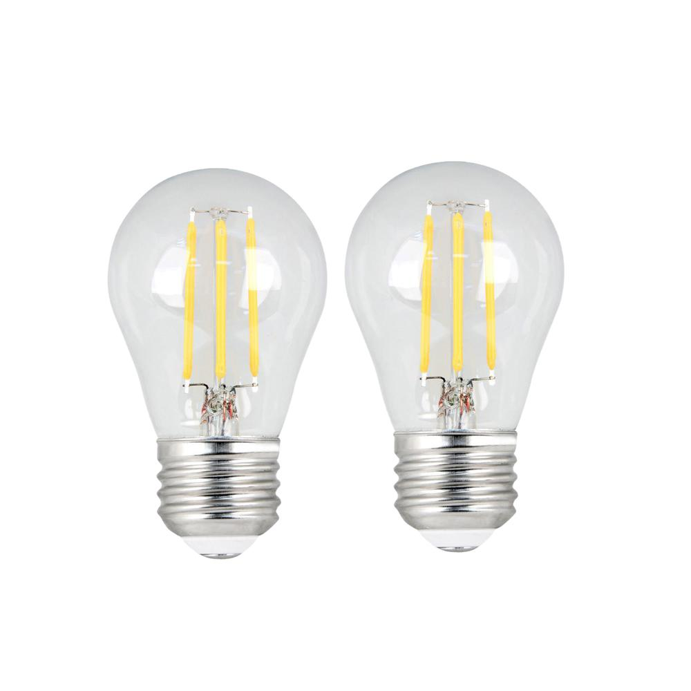 25W Equivalent Soft White (2700K) A15 Dimmable Filament LED Clear Glass