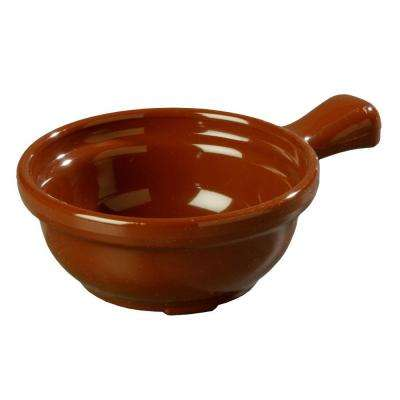 8 oz. 4.64 in. Diameter San Handled Soup Bowl in Lenox Brown (Case of 24)
