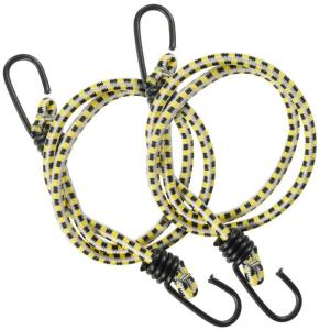 36 in. Bungee Cord with Coated Hooks(2-Pack)