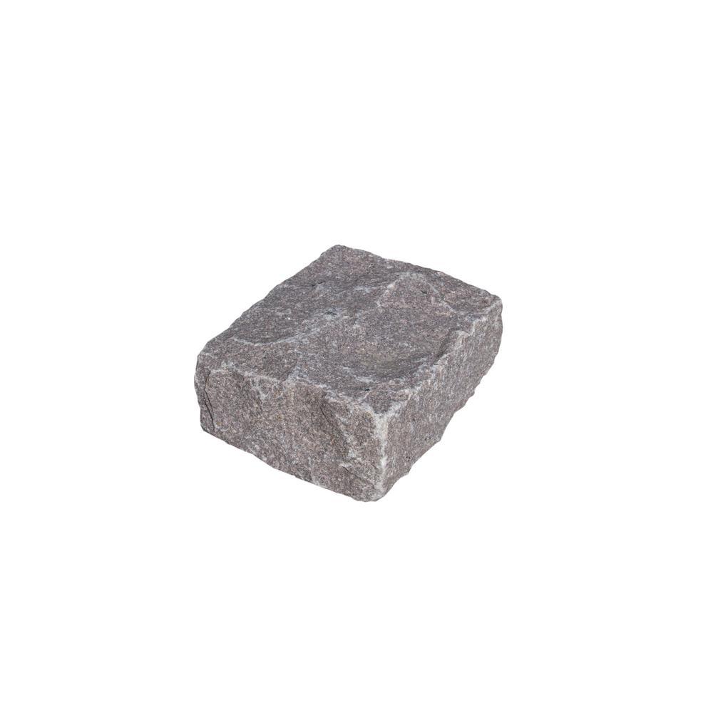 Cobblestone 10 in. x 7 in. x 4 in. Rose Granite Edging (50-Pieces/41 lin. ft./Pallet)