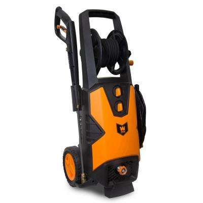 2030 PSI 1.76 GPM 14.5 Amp Electric Pressure Washer with Variable Detergent and Hose Reel