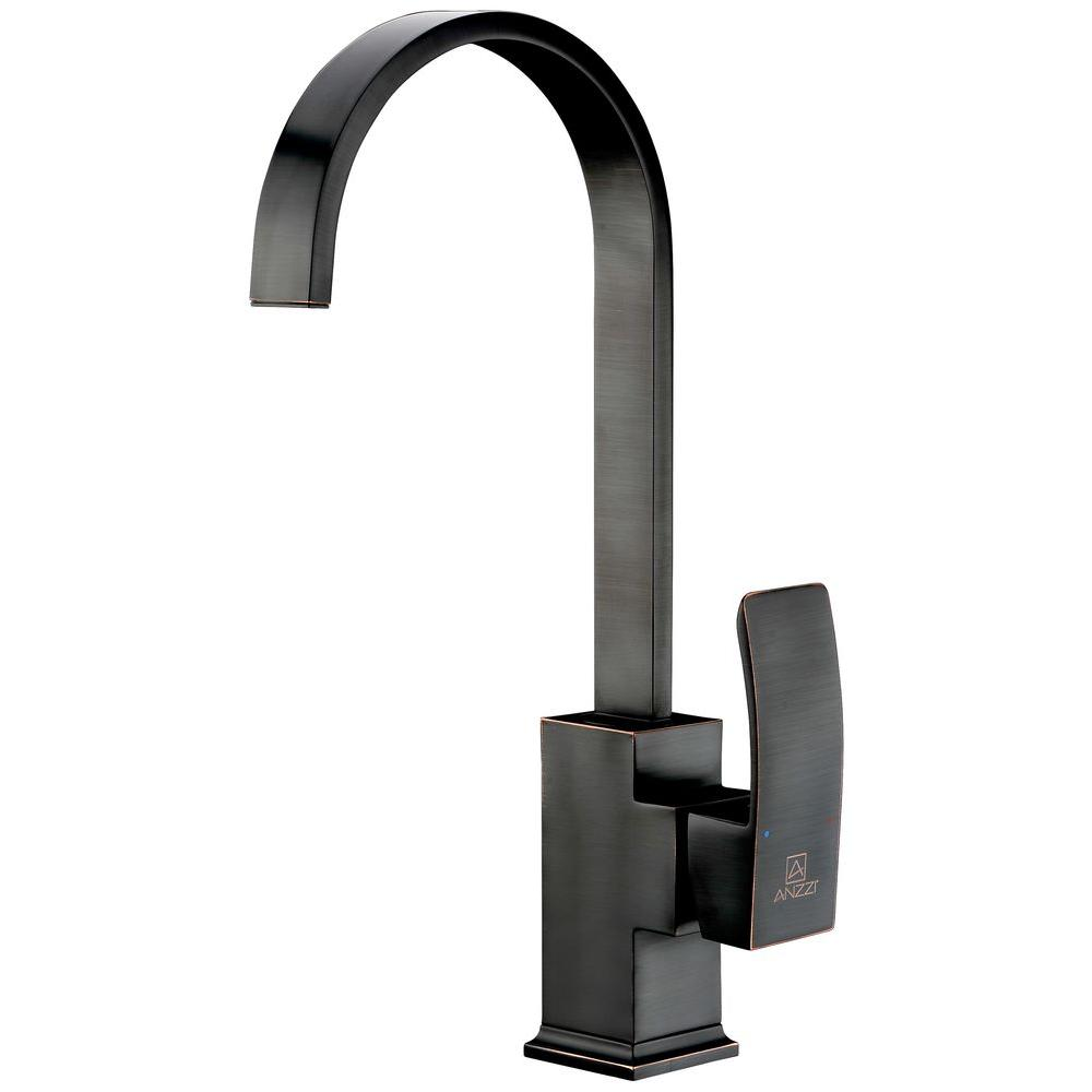 Opus Series Single-Handle Standard Kitchen Faucet in Oil Rubbed Bronze
