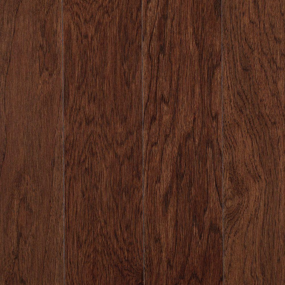 Mohawk portland hickory sable 3 4 in thick x 5 in wide x for Mohawk hardwood flooring