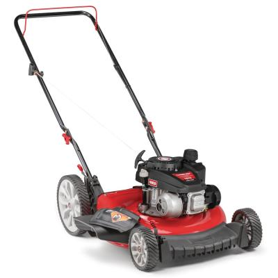21 in. 140 cc Gas Walk Behind Push Mower with High Rear Wheels and 2-in-1 Cutting TriAction Cutting System