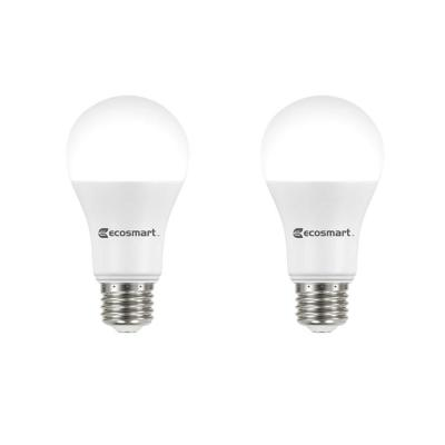 75-Watt Equivalent A19 Dimmable Energy Star LED Light Bulb Daylight (2-Pack)