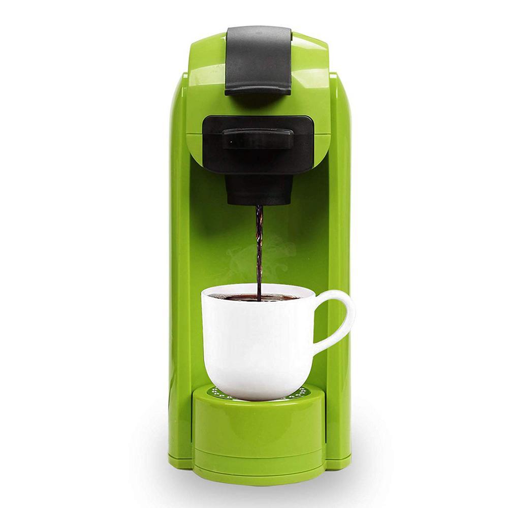Green 1000-Watt 4-Cups Coffee Machine Single Serve Coffee Maker