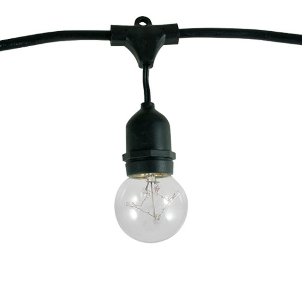 Bulbrite 48 ft. 15-Socket with 5-Watt G16 Incandescent St...