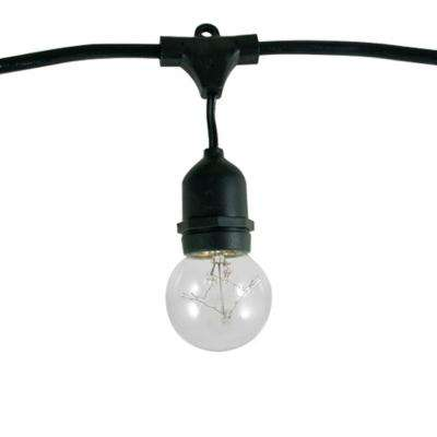48 ft. 15-Socket with 5-Watt G16 Incandescent String Light Set