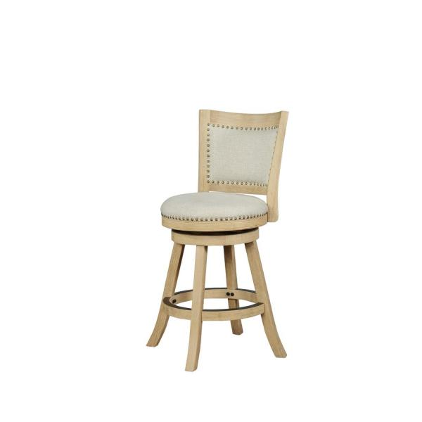 Tucker Natural 24 in. Counter Stool