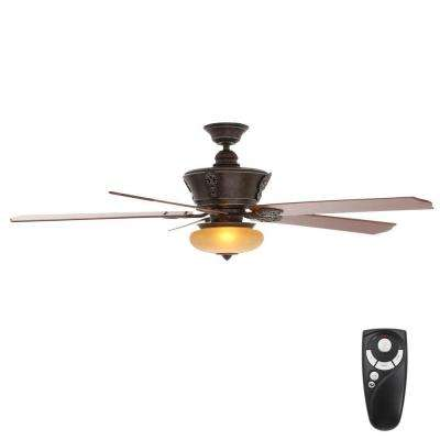 Bronze angled remote control included ceiling fans lighting indoor banci bronze ceiling fan with light kit and remote control aloadofball Gallery