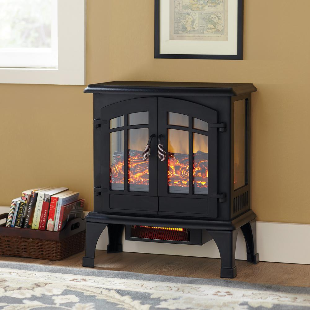 hamptonbay Hampton Bay Legion 1,000 sq. ft. Panoramic Infrared Electric Stove