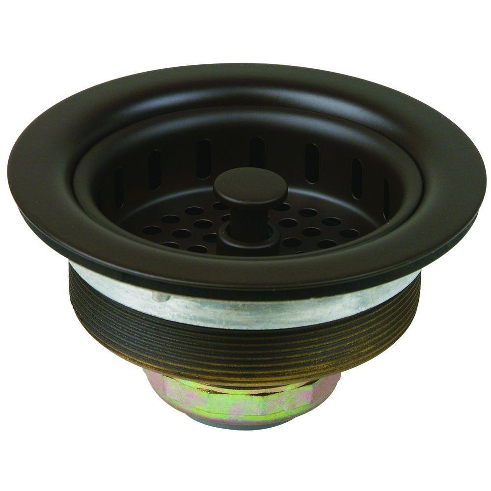Westbrass 2 In Basket Sink Strainer In Oil Rubbed Bronze