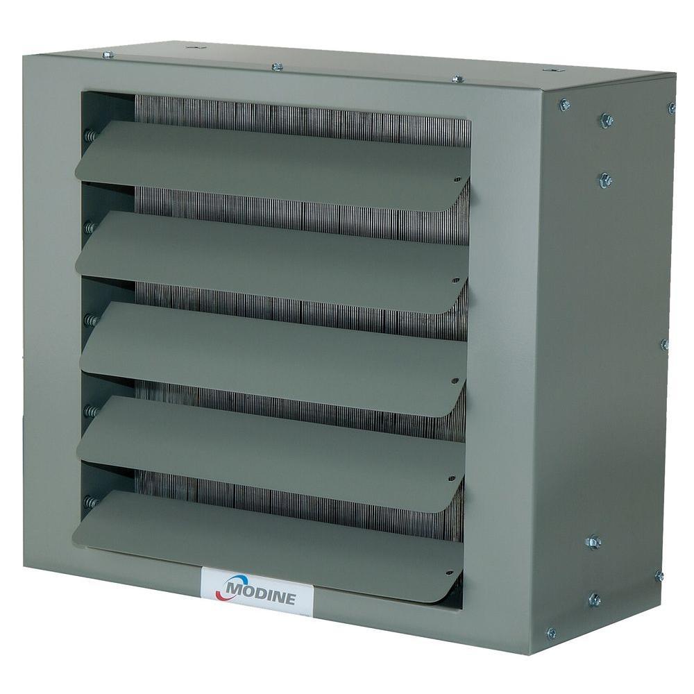 Modine 18,000 BTU Steam/Hot Water Heater, Grey-Green