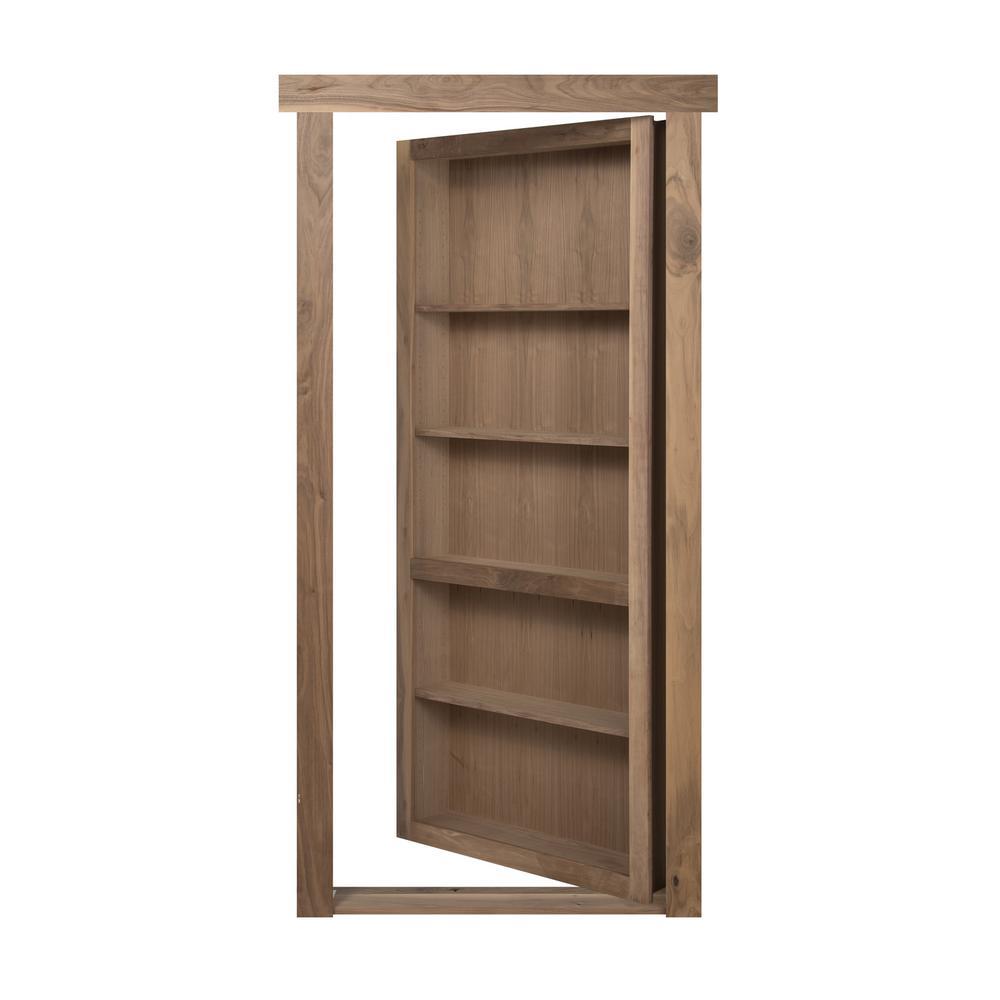 the murphy door 32 in x 80 in flush mount assembled. Black Bedroom Furniture Sets. Home Design Ideas