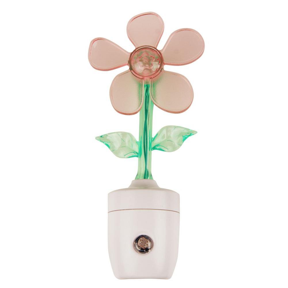 0.5-Watt Flower Power Automatic LED Night Light