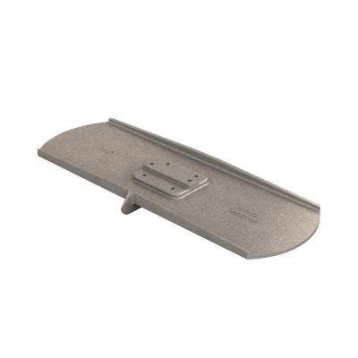24 in. x 8 in. Round End Aluminum Flying Groover 3/8 in. x 3/4 in. Single Bit