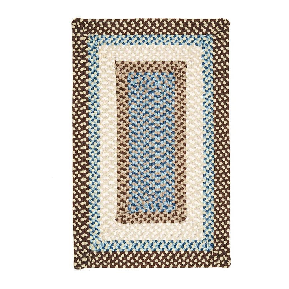 Home Decorators Collection Blithe Brown 3 ft. x 5 ft. Rectangle Braided Area Rug