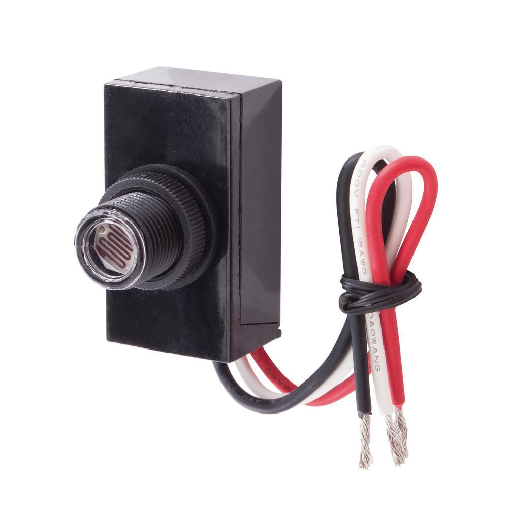 120-Volt LED/CFL Post Mount Button Photo Control