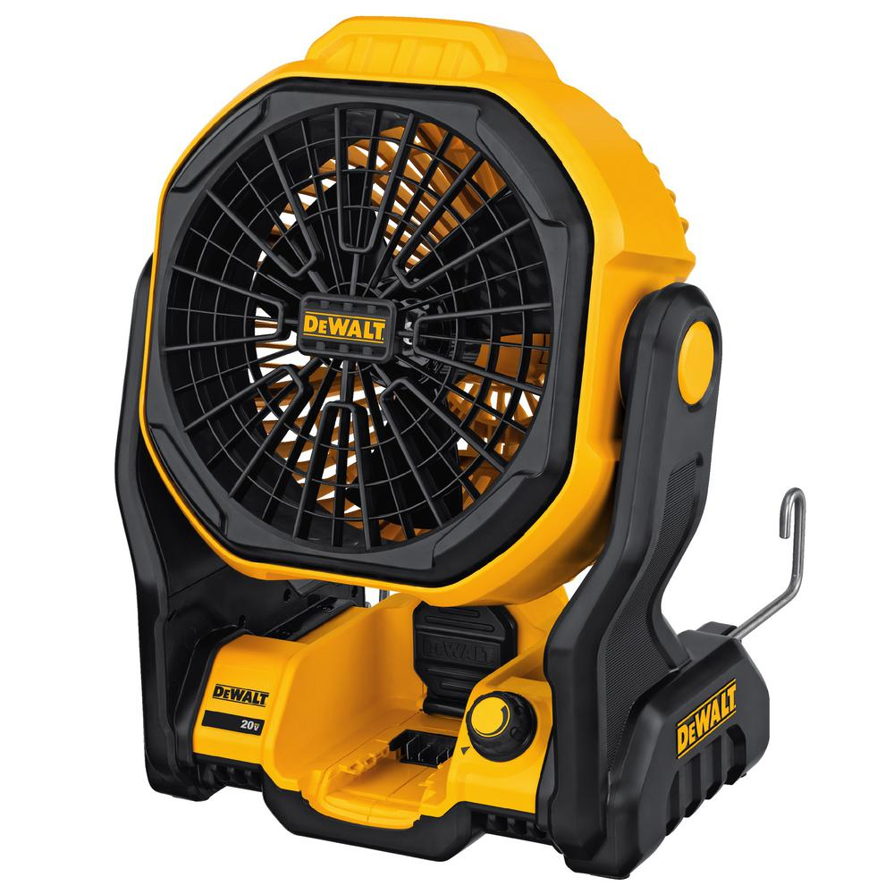 DEWALT 20-Volt MAX Lithium-Ion Cordless and Corded Jobsite Fan (Tool-Only)