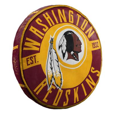 15 in. Redskins Multi Color Polyester Cloud Standard Pillow