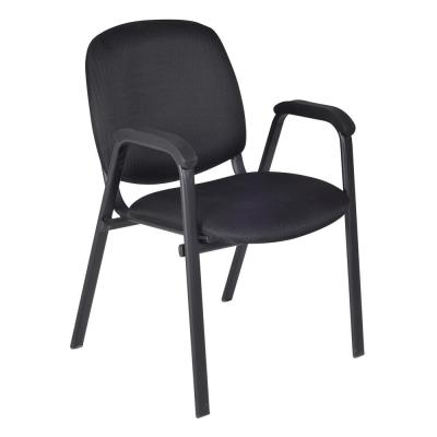 Ace Midnight Black Stack Chair
