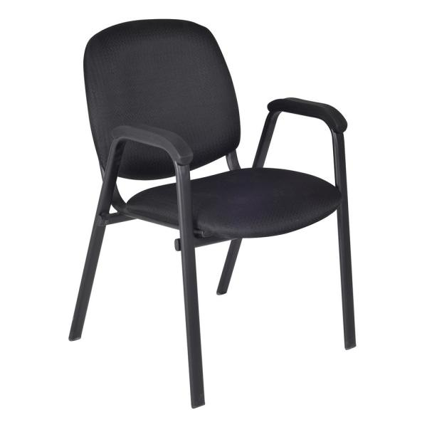 Charmant Ace Midnight Black Stack Chair