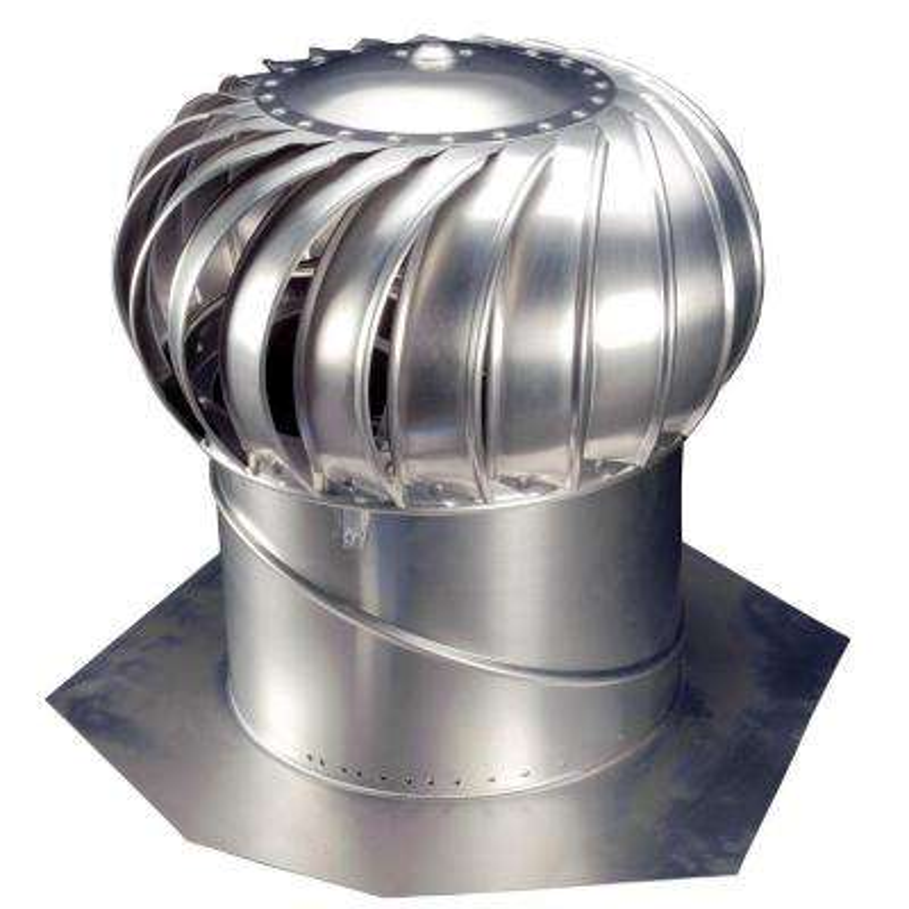 14 in. Mill Finish Aluminum Internally Braced Wind Turbine
