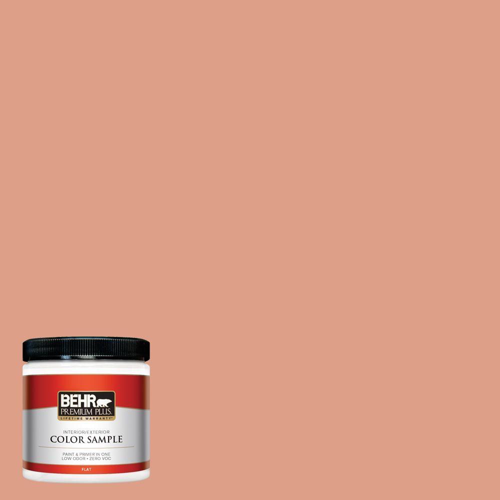 BEHR Premium Plus 8 oz. #220D-4 Southwest Stone Interior/Exterior Paint Sample