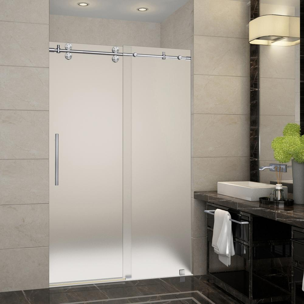 Frosted Sliding Shower Door Migrant Resource Network