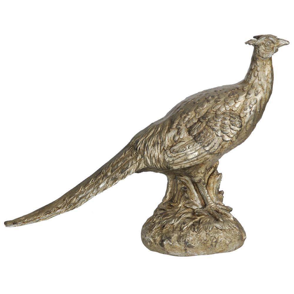 15 in. Pheasant Decorative Statue