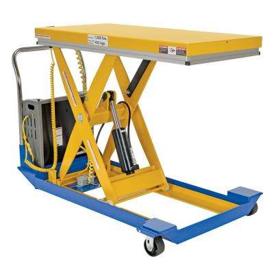 1,000 lbs. 48 in. x 24 in. Dc Powered Scissor Cart
