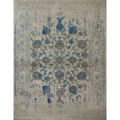 Athos Gray 5 ft. x 8 ft. Indoor Area Rug