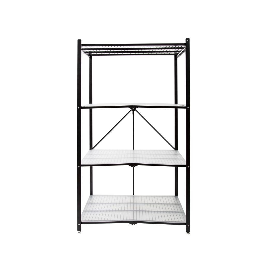 Pop It 35 in. W x 18 in. D Plastic Clear 4-Tier Shelf Liners-R1407 ...