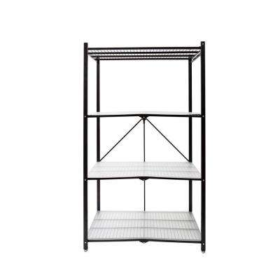 35 in. W x 18 in. D Plastic Clear 4-Tier Shelf Liners