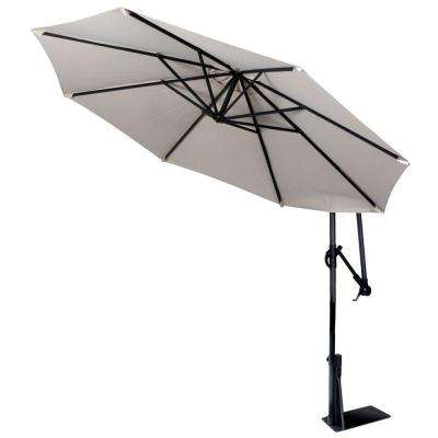 9 ft. Spa Umbrella in Beige