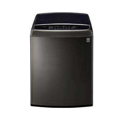 5.0 cu. ft. Smart Top Load Washer with WiFi Enabled in Black Stainless Steel, ENERGY STAR