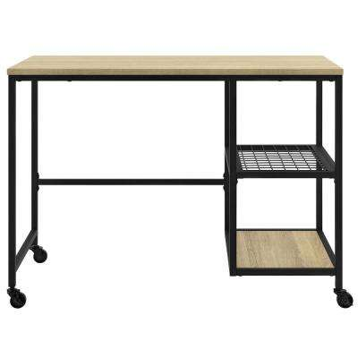 North Point Golden Oak Computer Desk