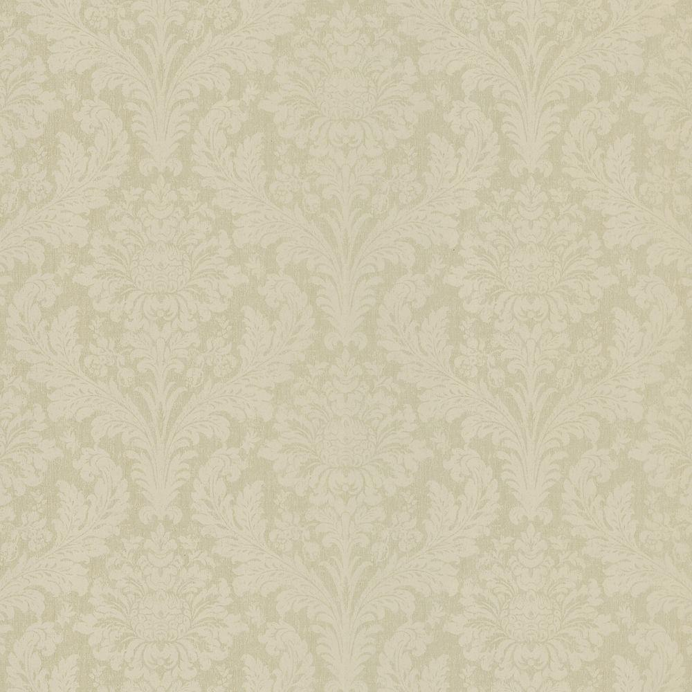 Brewster 8 in. W x 10 in. H Damask Wallpaper Sample