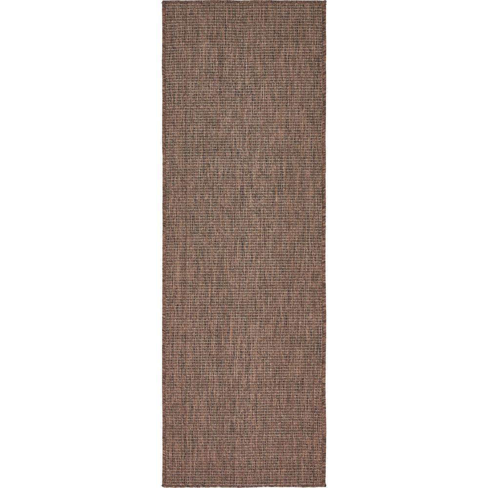 Outdoor Light Brown 2' x 6' Runner Indoor/Outdoor Rug